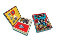 Marvel: Captain America Deluxe Note Card Set (With Keepsake Book Box)