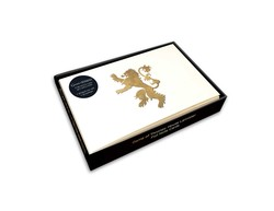 Game of Thrones: House Lannister Foil Note Cards (Set of 10)