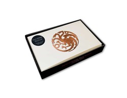 Game of Thrones: House Targaryen Foil Note Cards (Set of 10)