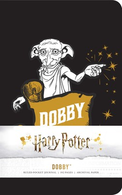 harry potter dobby ruled pocket journal