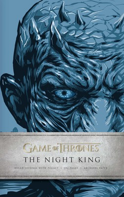 game of thrones the night king hardcover ruled journal