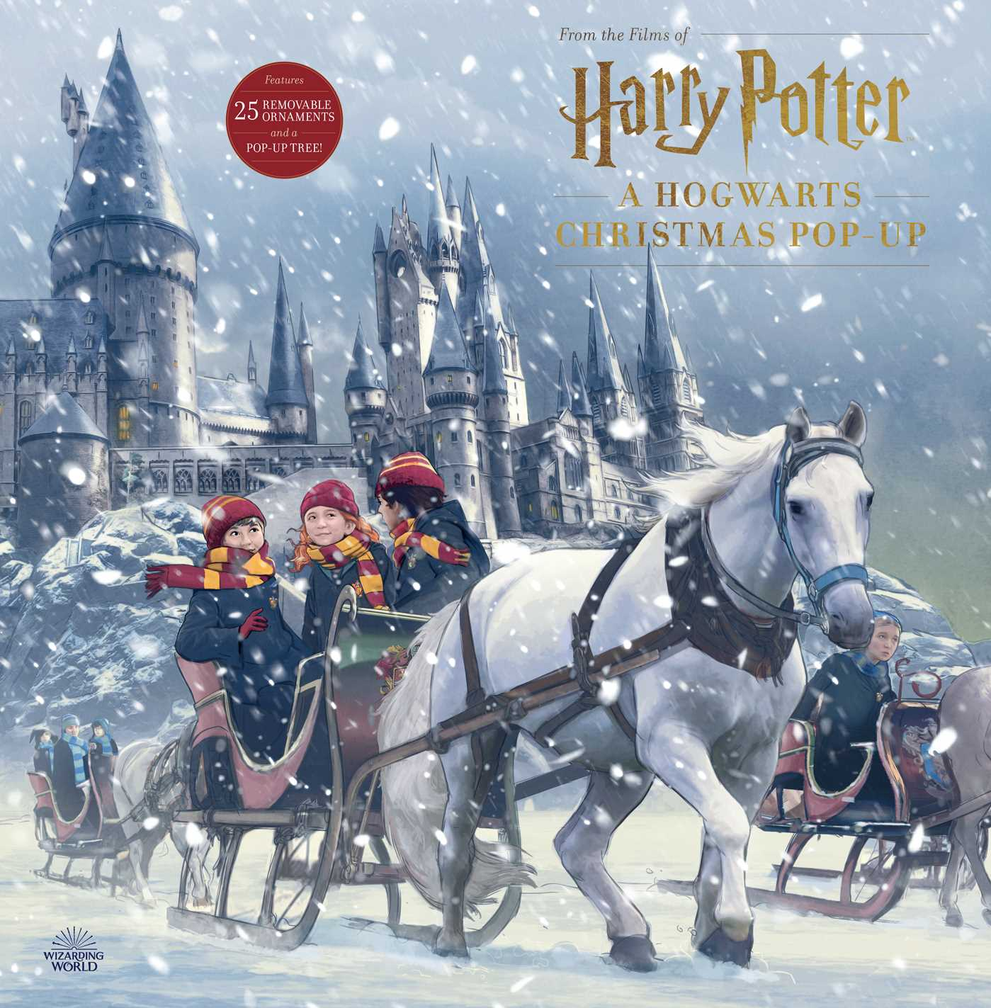 Hogwarts At Christmas 2021 Harry Potter A Hogwarts Christmas Pop Up Advent Calendar Book By Insight Editions Official Publisher Page Simon Schuster