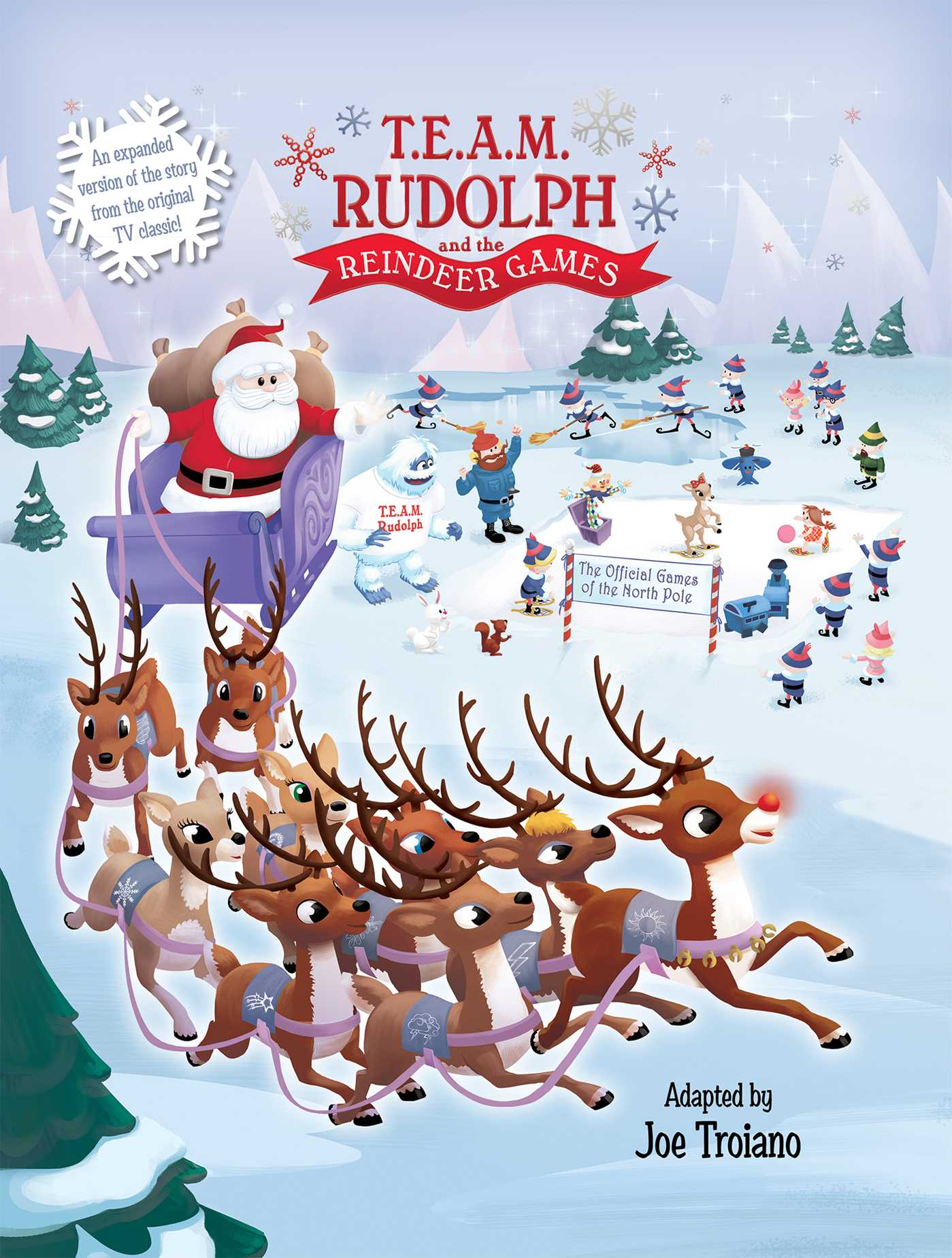 T e a m rudolph and the reindeer games 9781684120789 hr