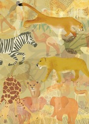 Safari Scene Journal