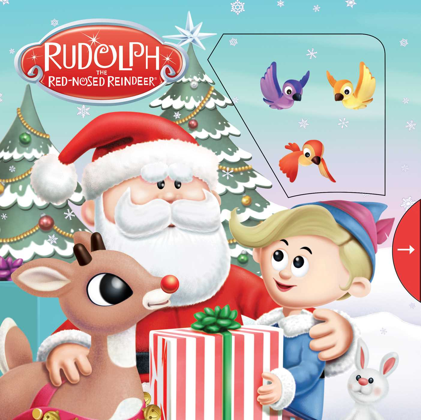 Rudolph the red nosed reindeer 9781684121366 hr