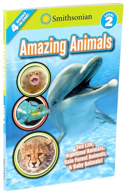 Smithsonian Readers: Amazing Animals Level 2