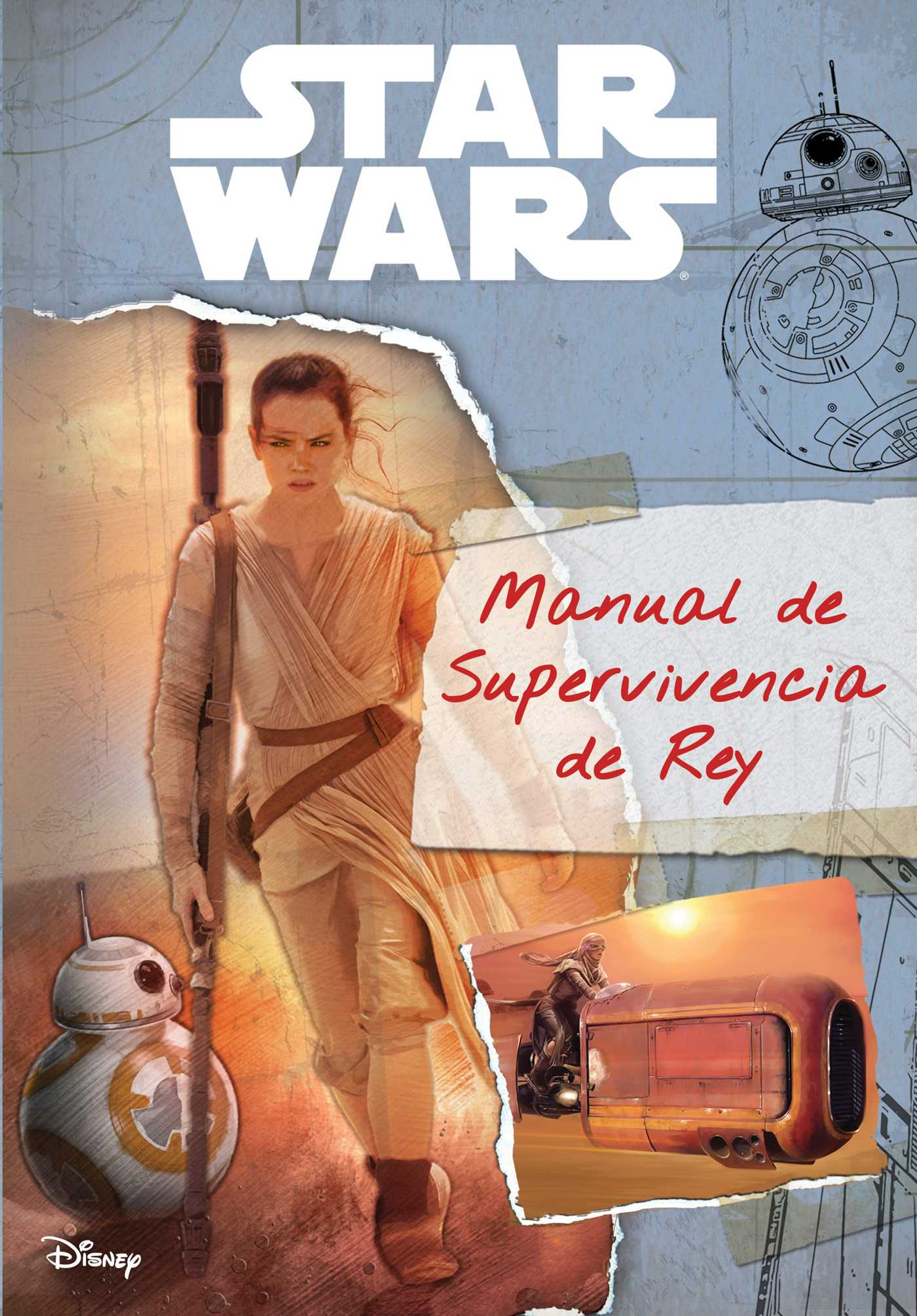 Star wars the force awakens manual de supervivencia de rey 9781684122431 hr