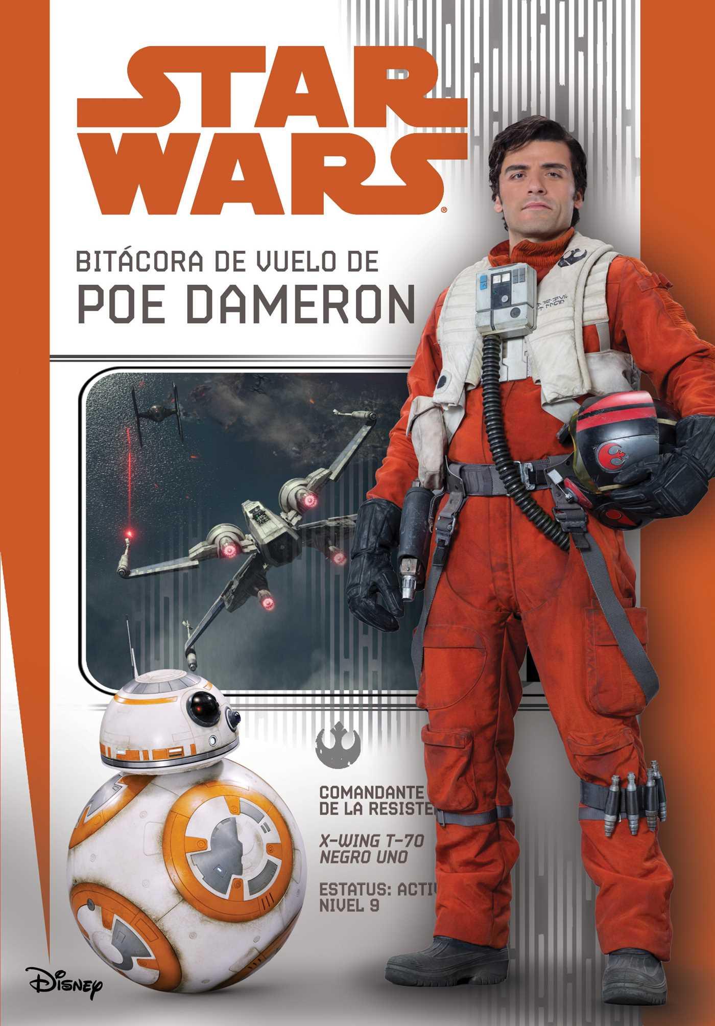 Star wars bitacora de vuelo de poe dameron 9781684122448 hr
