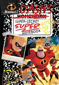 Disney Pixar Incredibles 2: Dash's Super-Secret Super Notebook