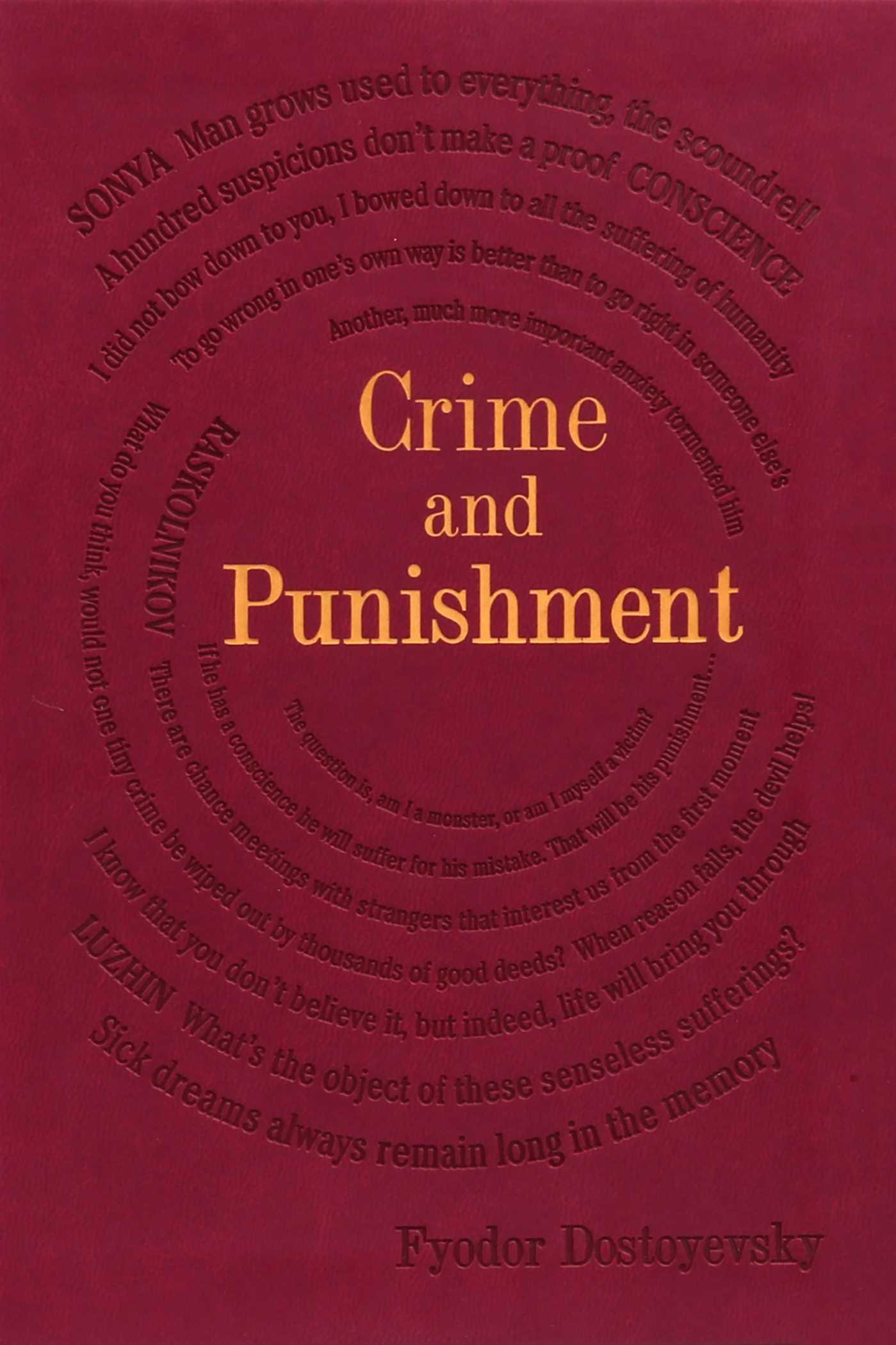 Crime and punishment 9781684122905 hr
