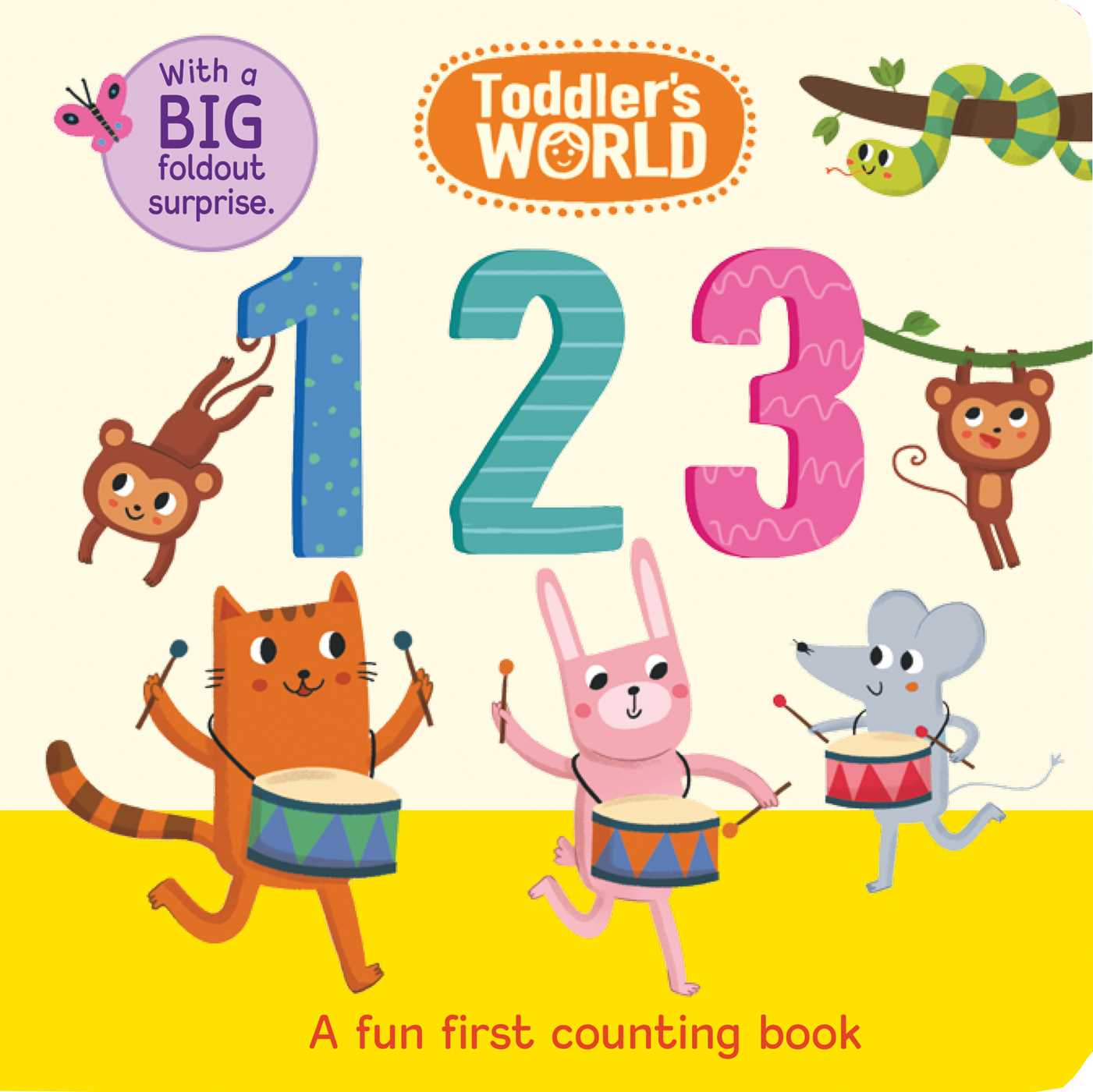 Toddlers world 123 9781684123018 hr