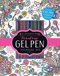 Kaleidoscope: Fabulous Gel Pen Coloring Kit