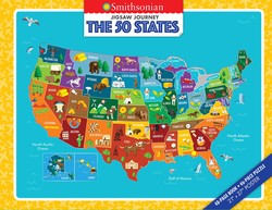 Jigsaw Journey Smithsonian: The 50 States