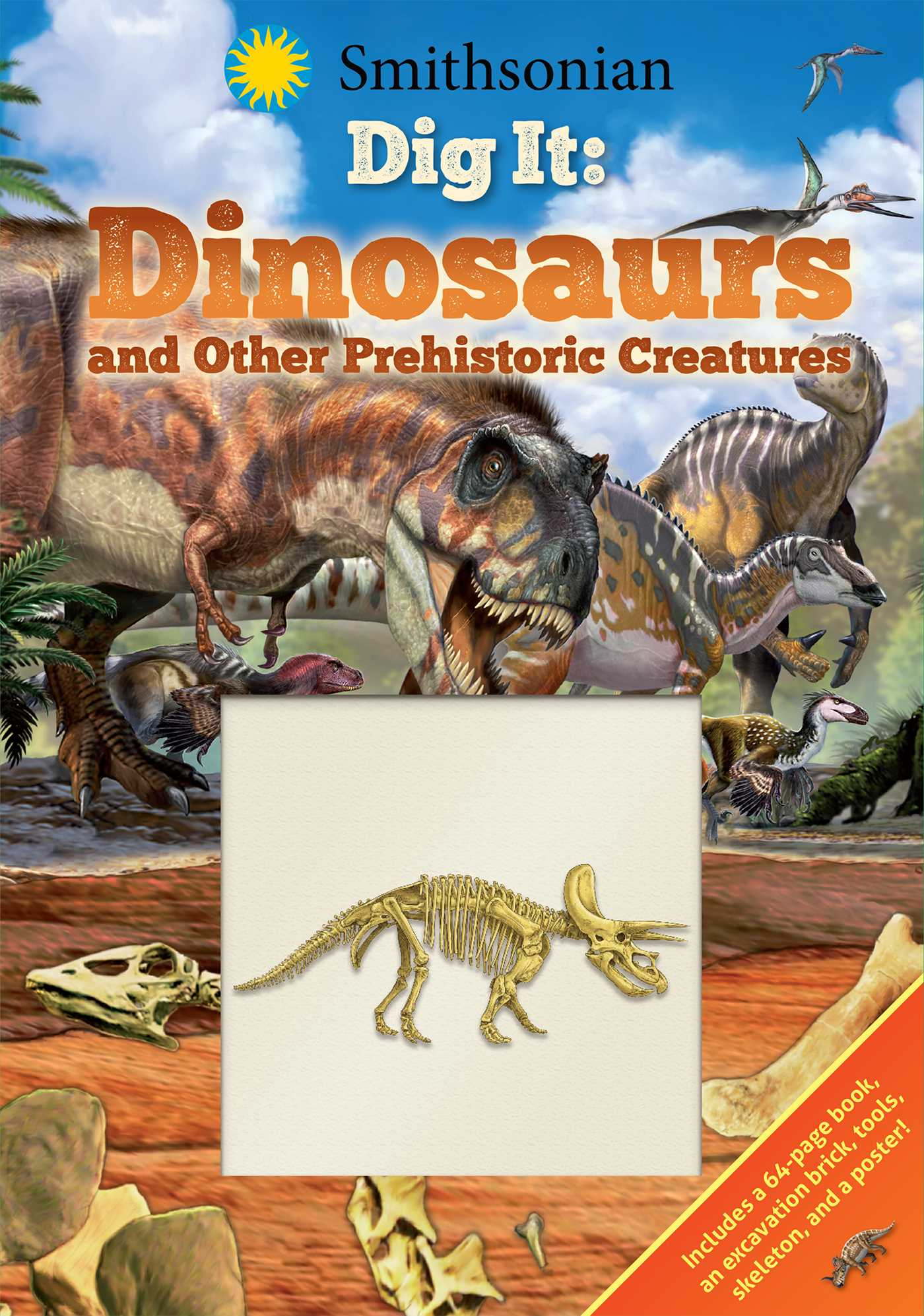 Smithsonian dig it dinosaurs other prehistoric creatures 9781684123193 hr