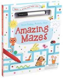 Never-Ending Activity Book: Amazing Mazes