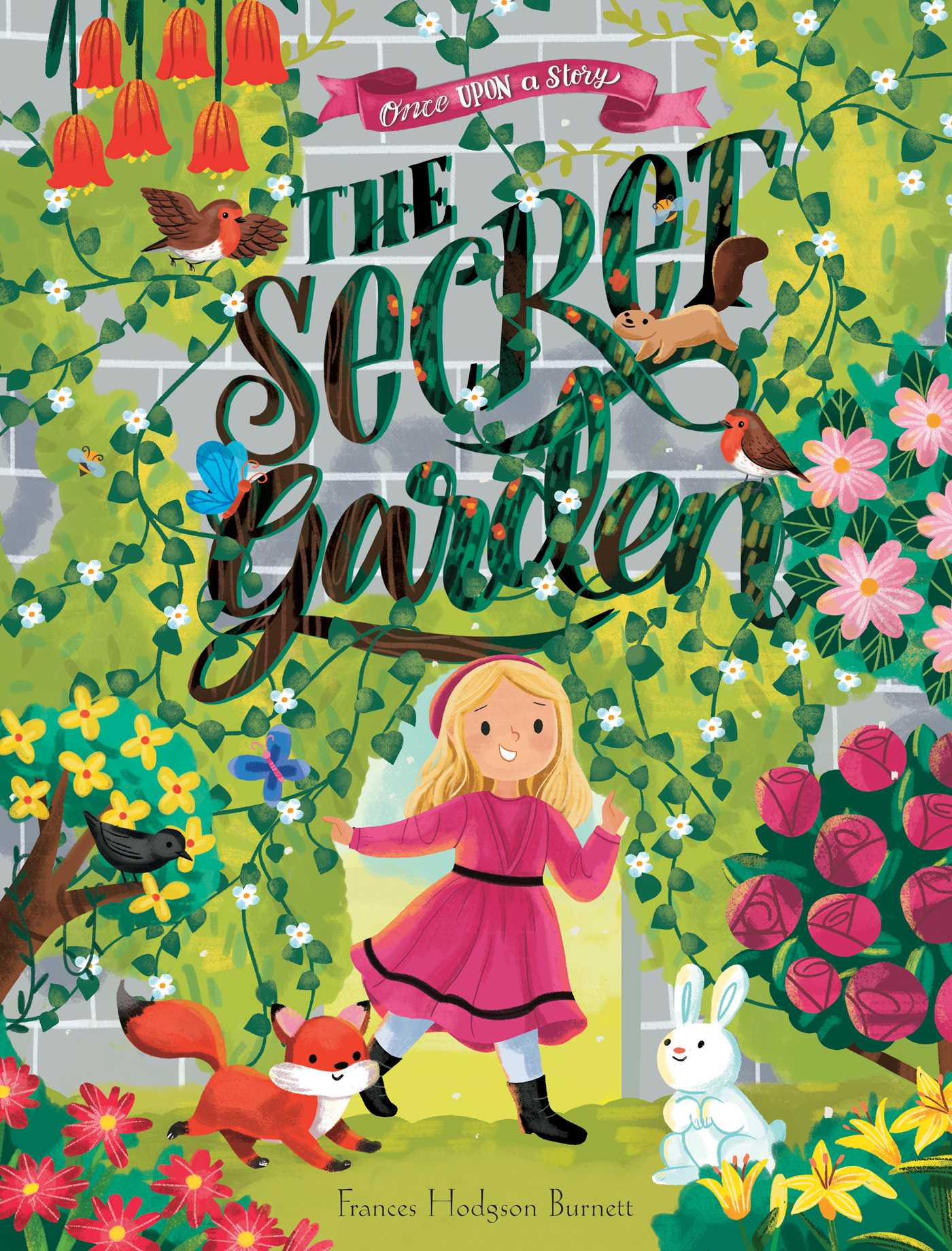 Once Upon A Story The Secret Garden Book By Frances Hodgson