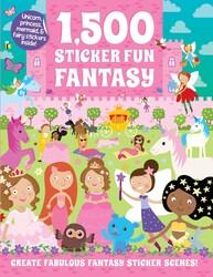 1,500 Sticker Fun Fantasy
