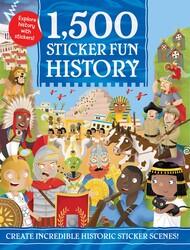 1,500 Sticker Fun History