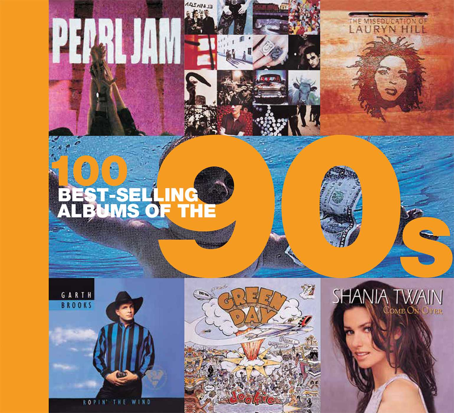 100 best selling albums of the 90s 9781684123650 hr