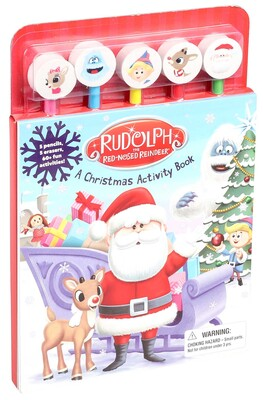 rudolph the red nosed reindeer pencil toppers book by jim durk