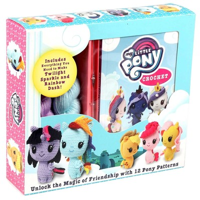 my little pony crochet book by jana whitley official publisher