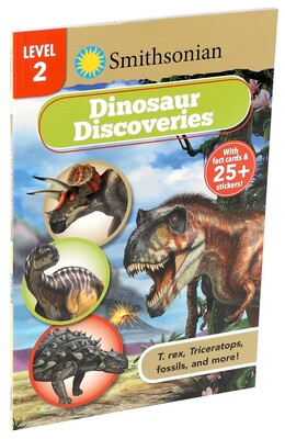 Smithsonian Reader Level 2: Dinosaur Discoveries | Book by Courtney