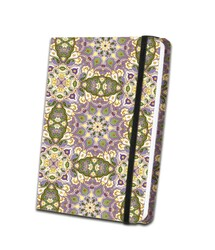 Patterned Satin Journal