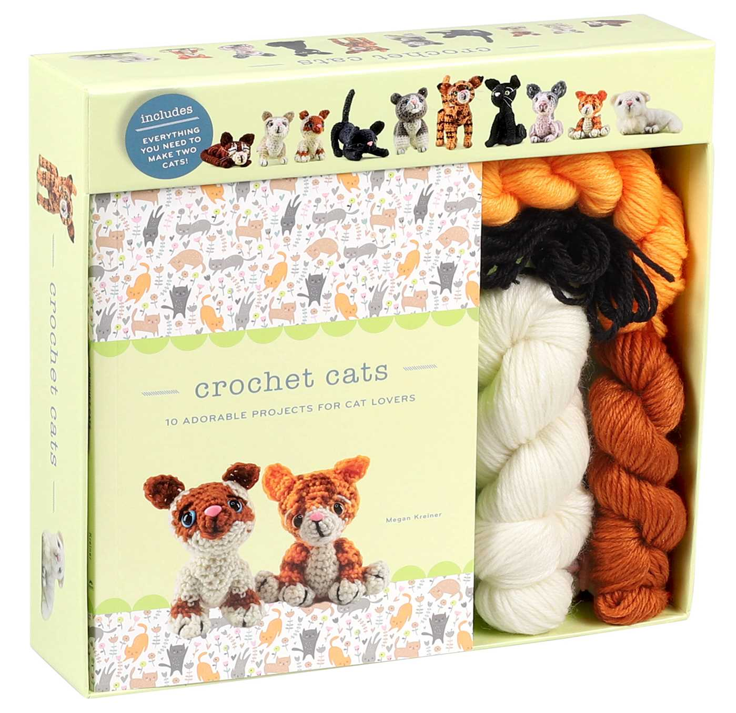 Crochet cats 9781684124961 hr