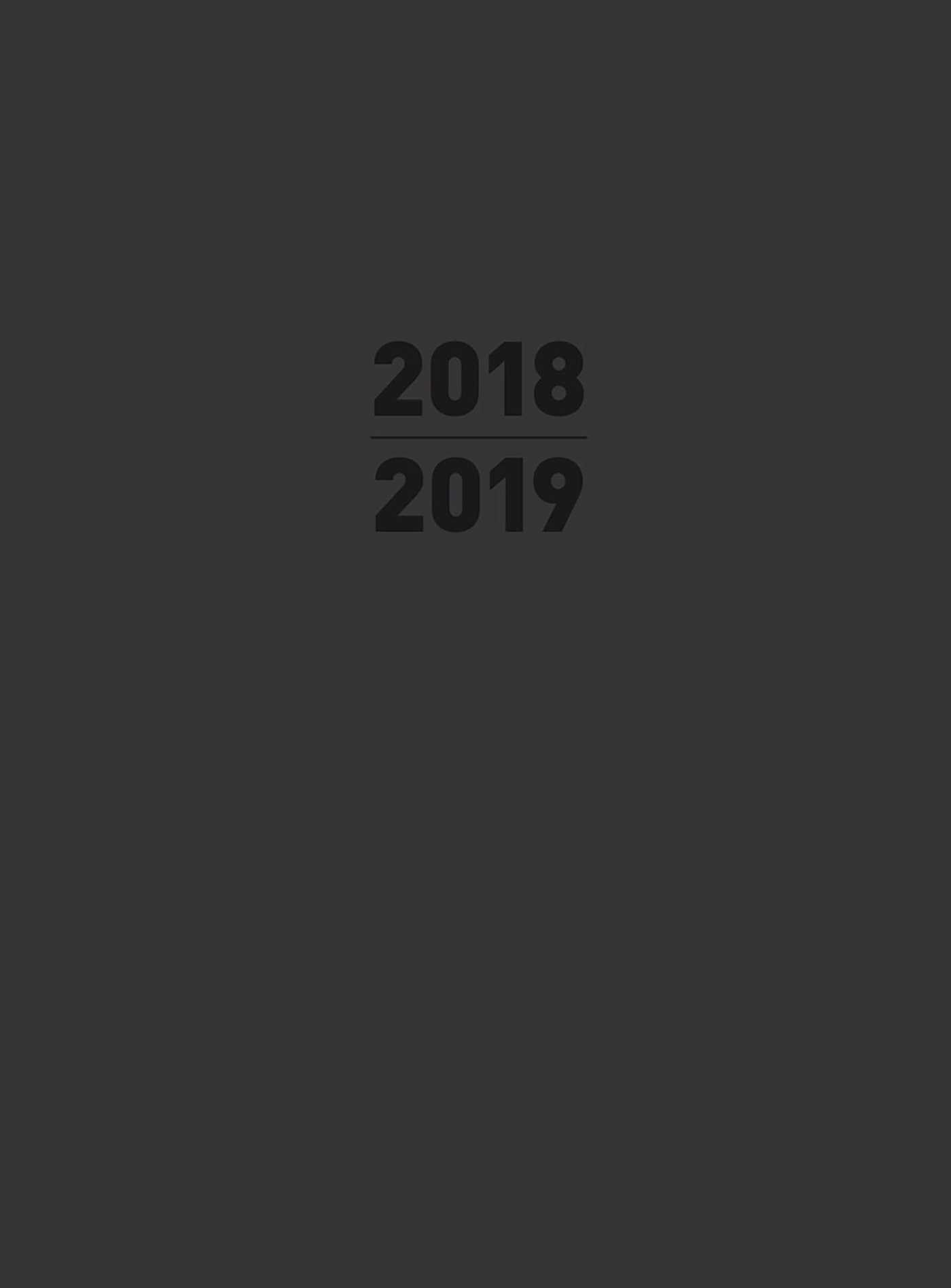 Small 2019 planner black 9781684125357 hr