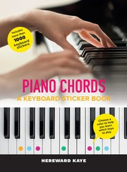 Piano Chords: A Keyboard Sticker Book