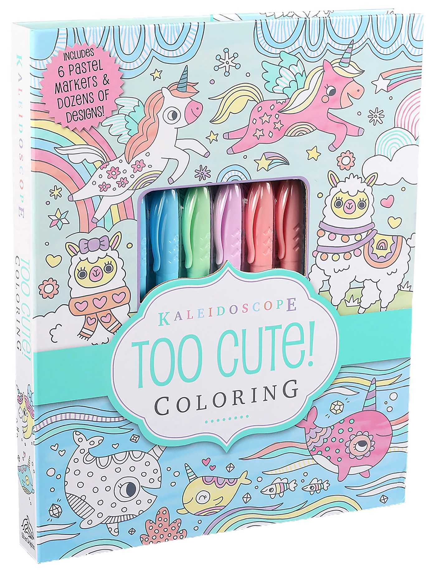 - Kaleidoscope: Too Cute! Coloring - Book Summary & Video Official
