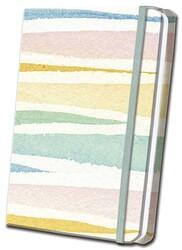 Pastel Striped Linen Journal