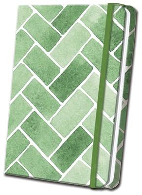 Green Tile Linen Journal