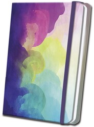Rainbow Satin Journal