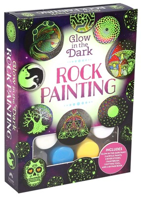 Glow In The Dark Rock Painting Book Summary Amp Video