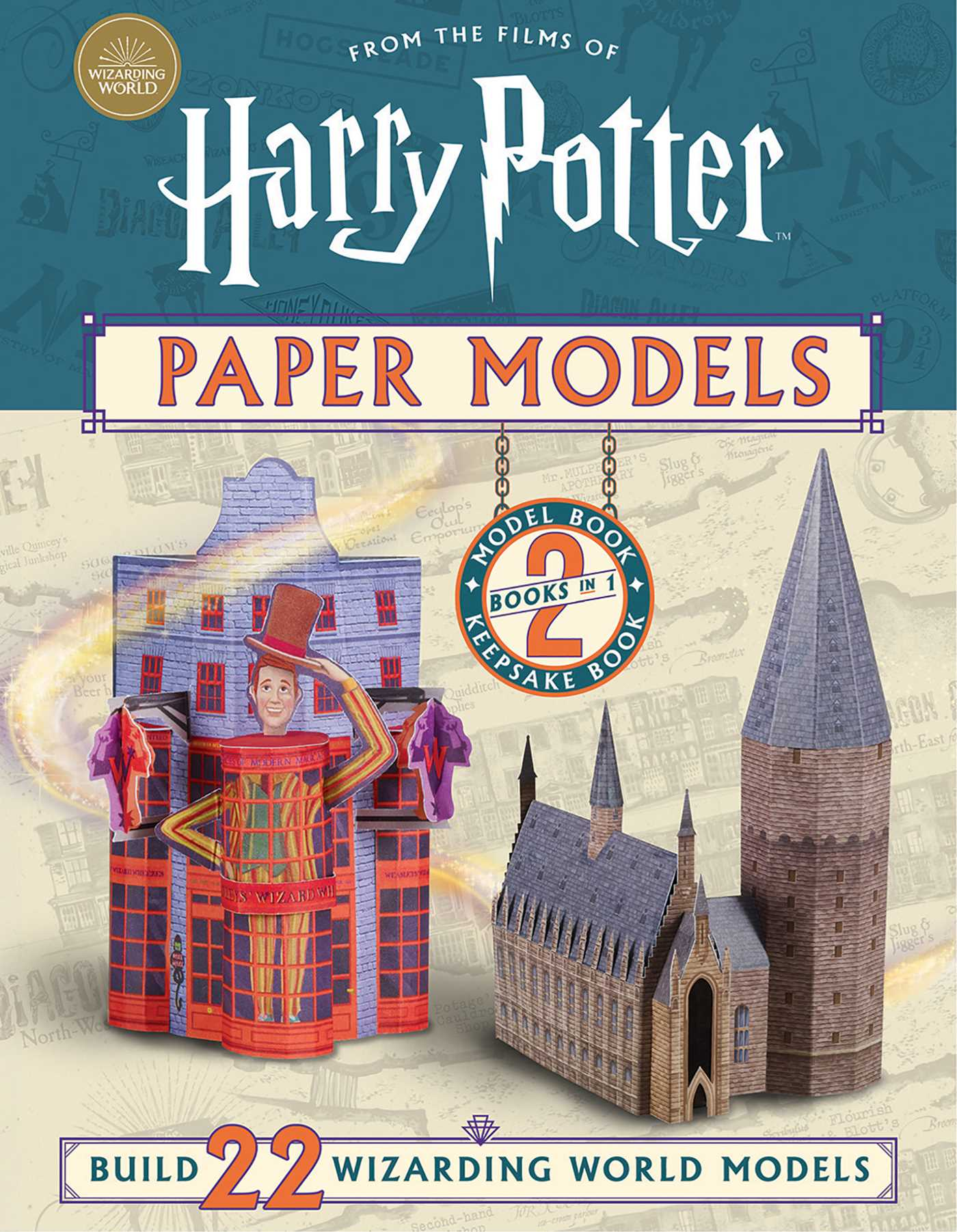 Harry Potter Paper Models Book Summary Video Official Publisher Page Simon Schuster