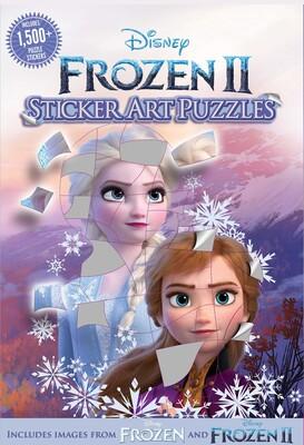 Disney Frozen 2 Sticker Art Puzzles Book By Gina Gold