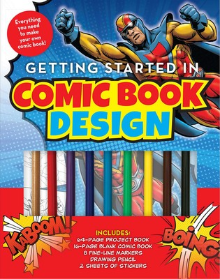 Cover Comic Book Design