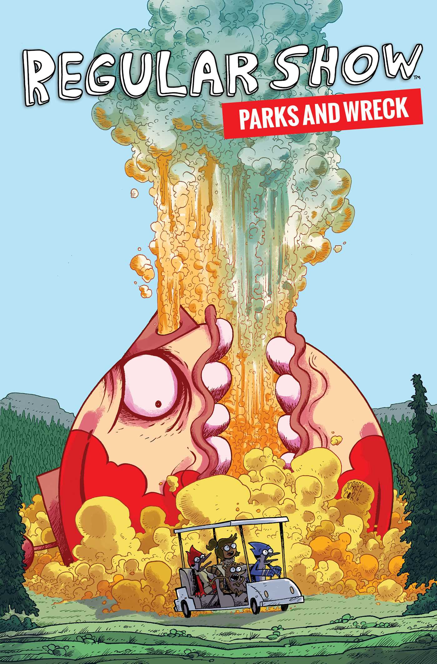 Regular show parks and wreck 9781684150427 hr