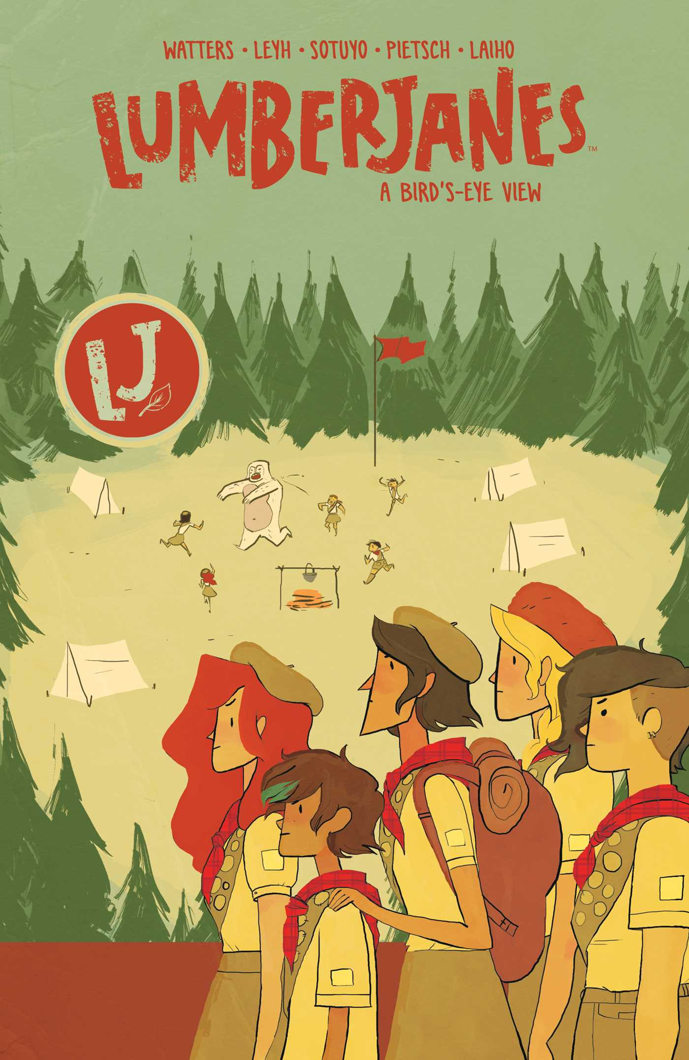 Lumberjanes vol 7 9781684150458 hr