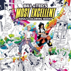 Bill & Ted's Most Excellent Coloring Book