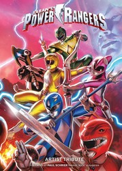 Power Rangers Artist Tribute