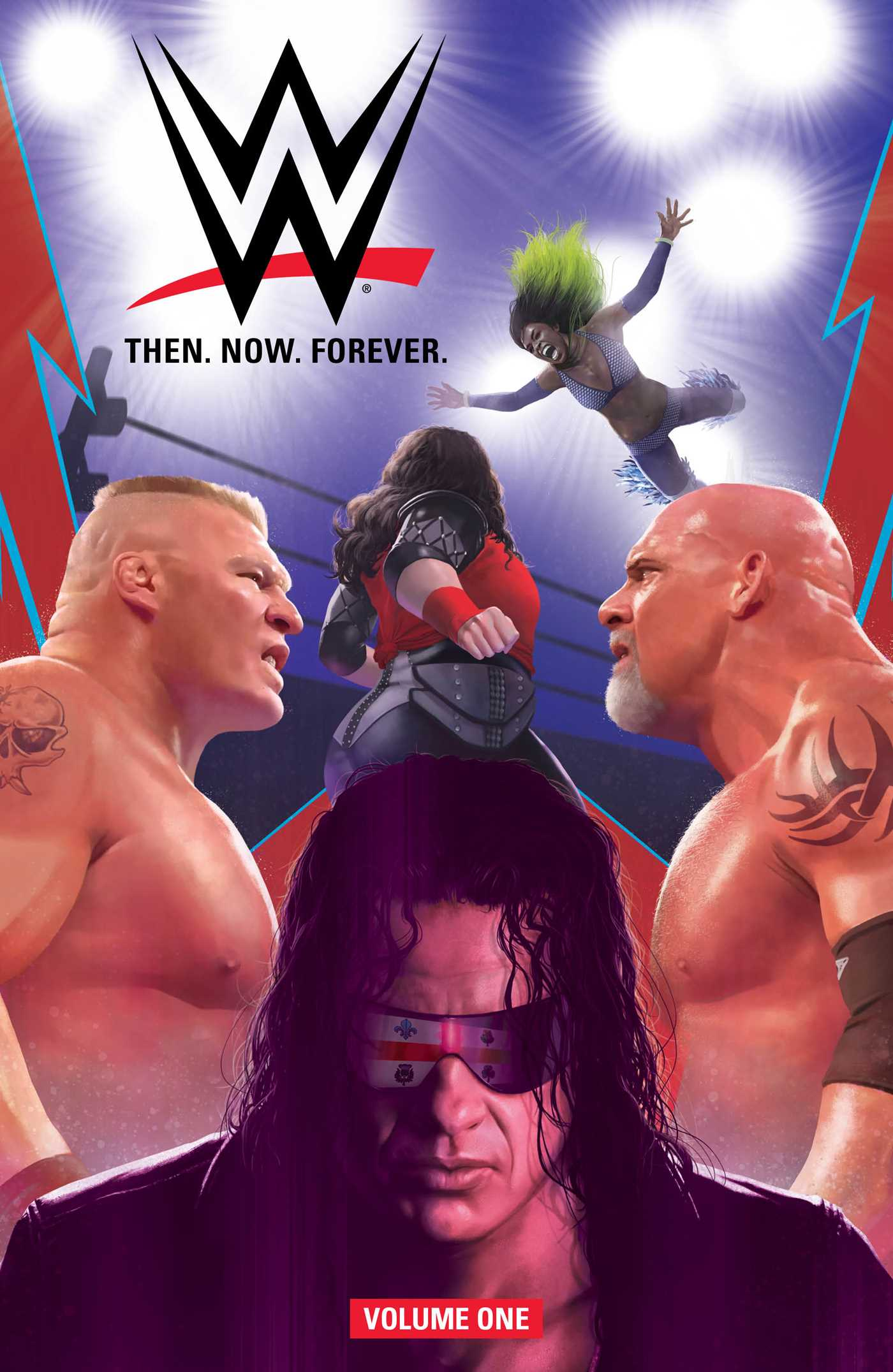 Wwe then now forever vol 1 9781684151288 hr