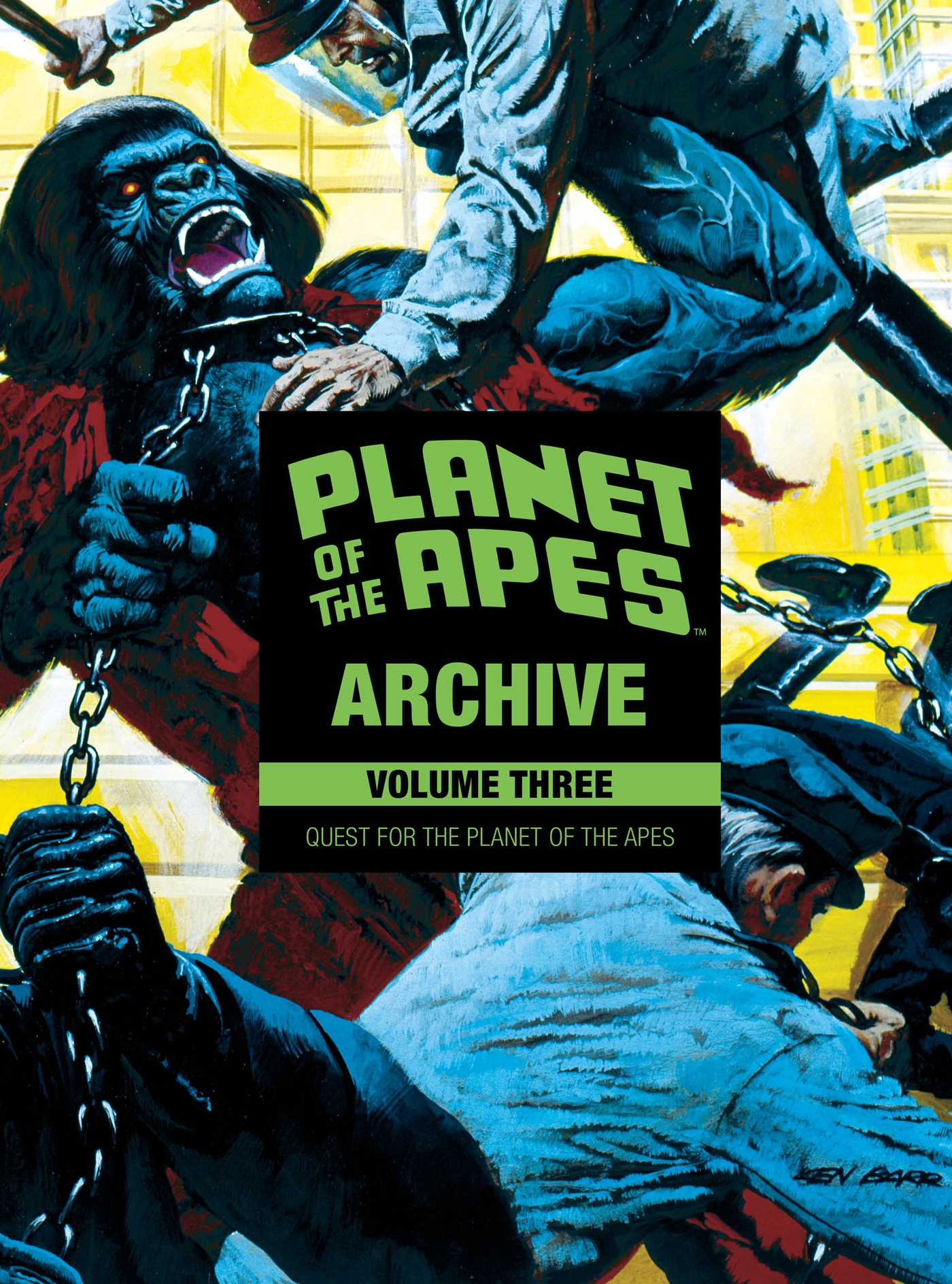 Planet of the apes archive vol 3 9781684151387 hr