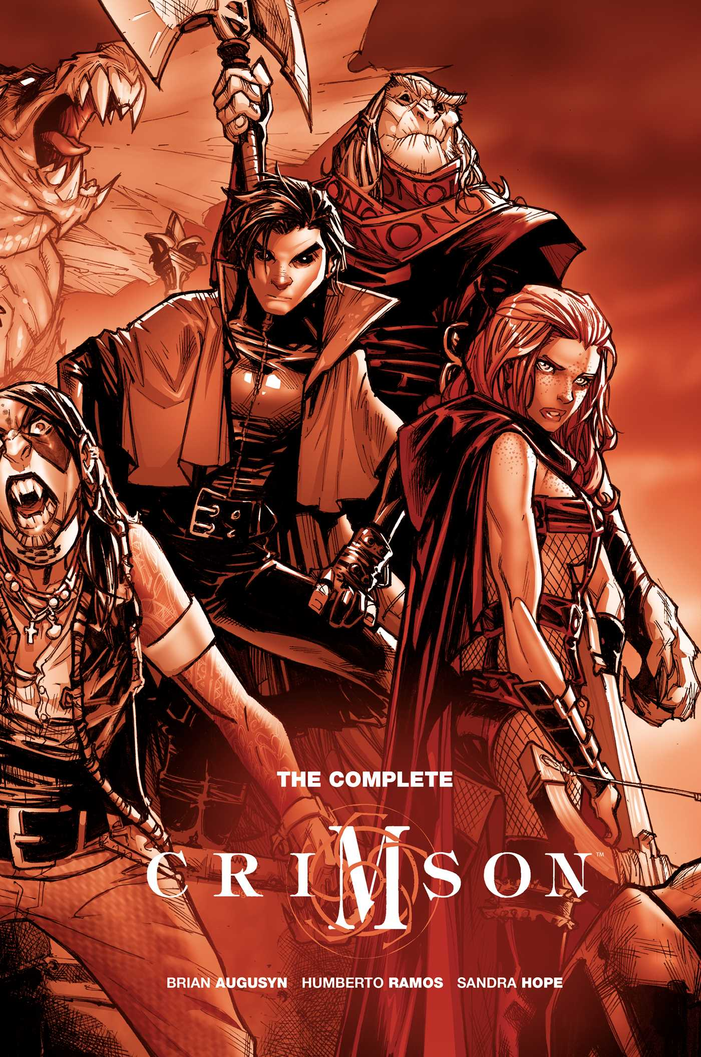 The complete crimson 9781684151677 hr