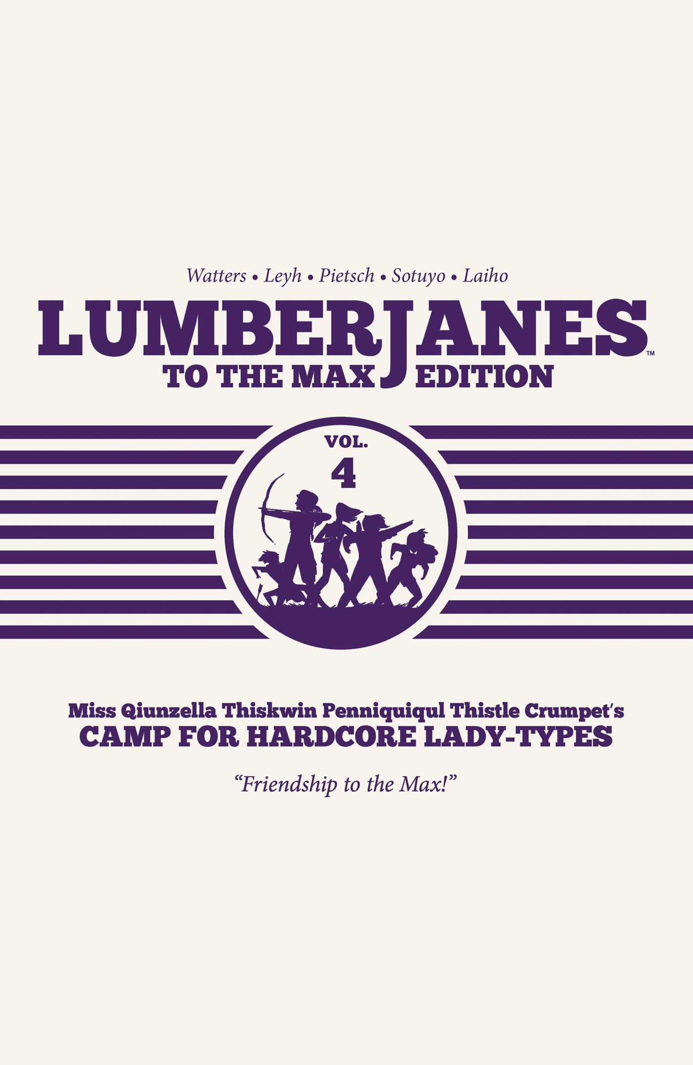 Lumberjanes to the max vol 4 9781684151837 hr
