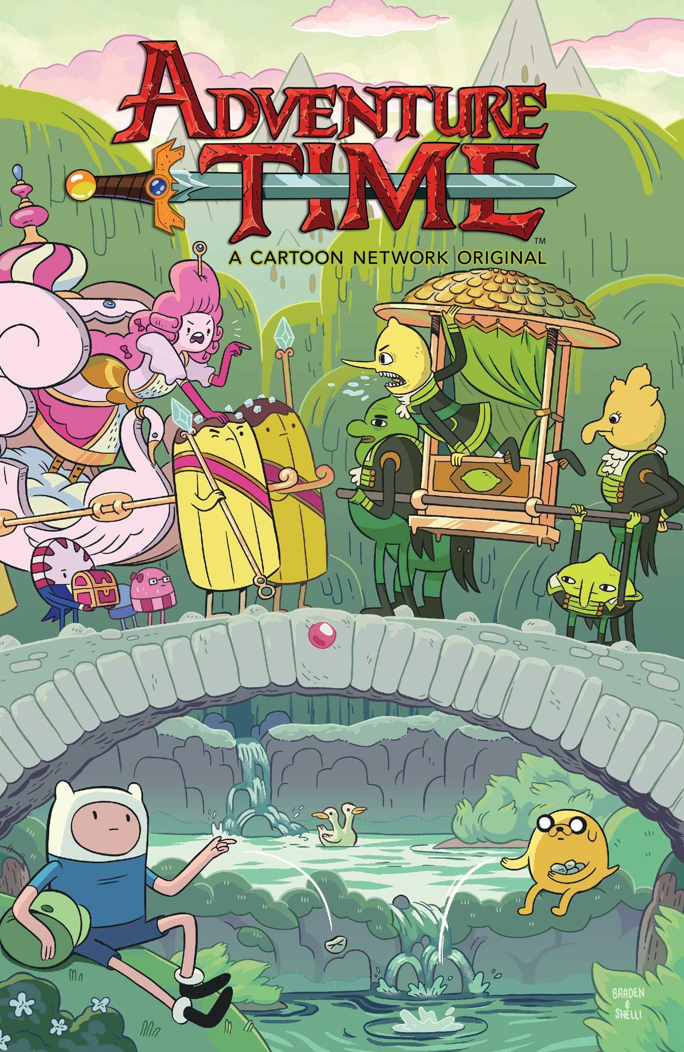Adventure Time Princess Day adventure time vol. 15 | bookdelilah s. dawson