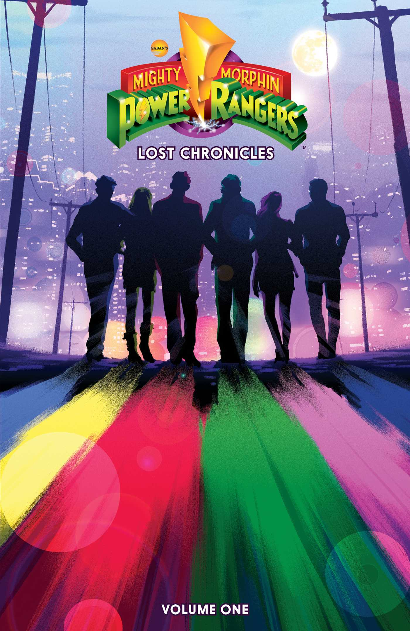 Mighty morphin power rangers lost chronicles 9781684152193 hr
