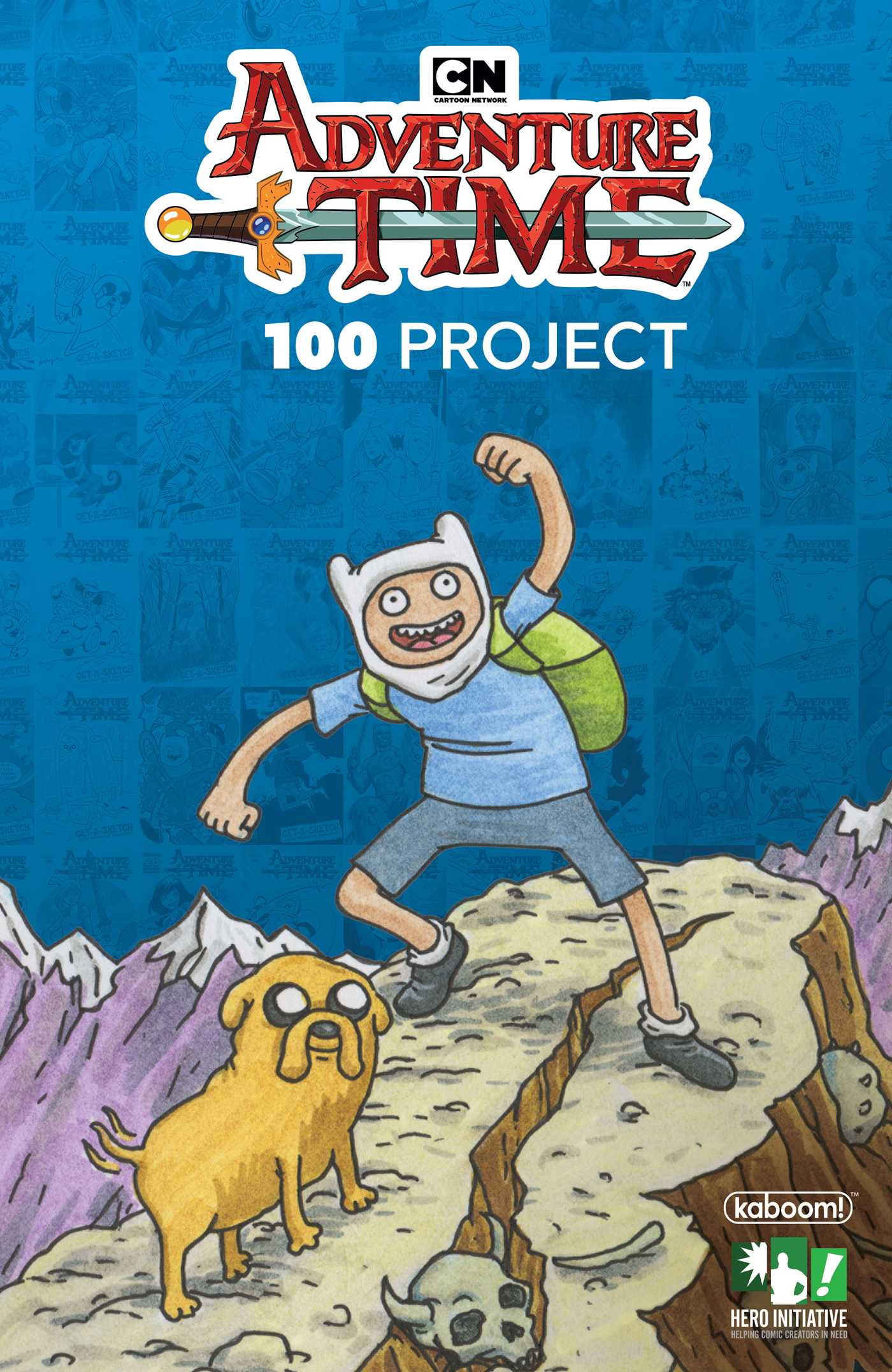 Adventure time 100 project 9781684152261 hr
