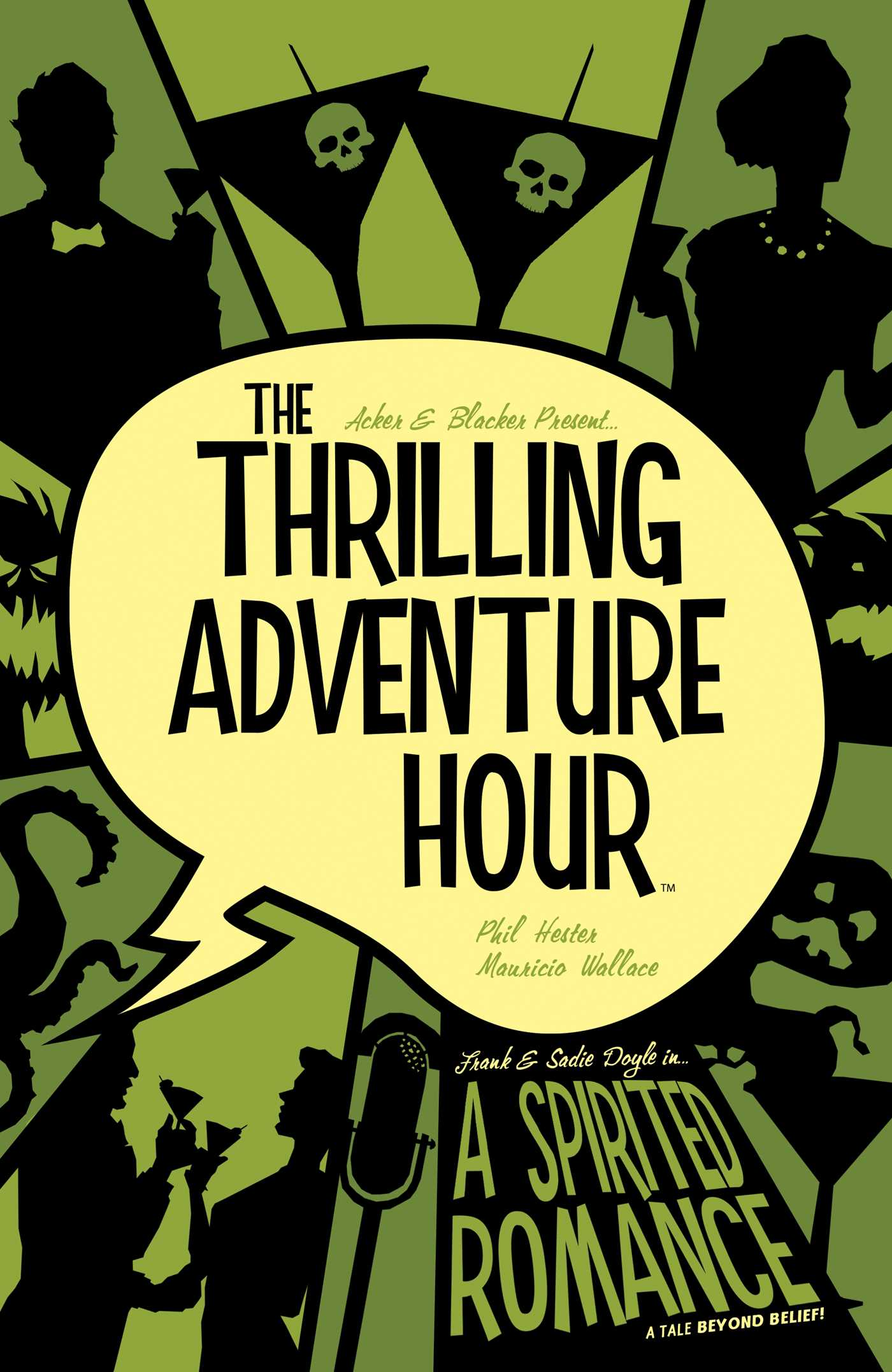 The thrilling adventure hour a spirited romance 9781684152315 hr